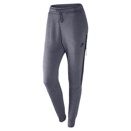 Nike Damen W Nsw Tech Fleece Og Trainingshose, Helles Karbon-Grau/Schwarz, XS
