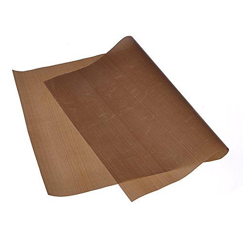 HuaYang Wiederverwendbare-Widerstand, rechteckig Backmatte, Antihaft-zertifiziert für Mikrowellen, gesund, geruchlos, Pad (Back-Liner, 60x 40cm