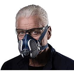Elipse SPR501 GVS Masque Elipse avec filtres poussière P3 RD, Taille-Medium/Large, bleu