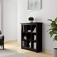 Amazon Brand - Solimo Zen Solid Wood Book Case (Wenge Finish)
