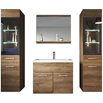 Woodkings® Badmöbel Set Dingle Holz Pinie rustikal und