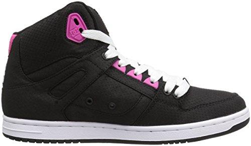 DC - - Junge Frauen Rebound Hohe Tx Se Hallo Top Schuhe Black/Fuchsia