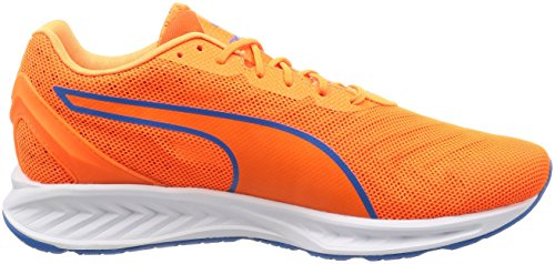 Puma Ignite 3 Pwrcool, Scarpe da Corsa Uomo Arancione (Orange Clown Fish-french Blue 01)