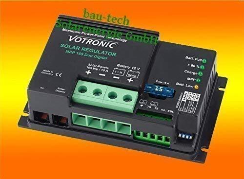 Votronic Solar Laderegler MPP 165 / 10Amper / 12Volt / 165Watt MPPT Regler von bau-tech Solarenergie GmbH