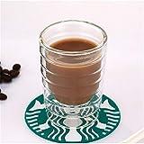 YUANYUAN520 Kaffeetasse Doppelwandige Kaffeetasse Aus Glas Durchsichtige Isolierte Espressotassen 85 / 150ml Hitzebeständige Teetasse Bleifreies Glas (Color : 85ml)