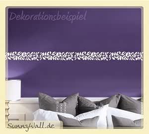 wandtattoo Tapete Türfolie Bordüre selbstklebend Holzwand hellblau shabby R0007