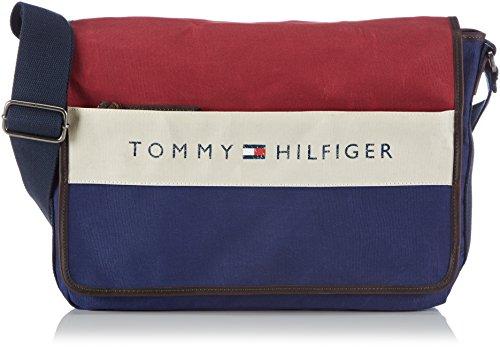 Tommy Hilfiger LANCE MESSENGER W/FLAP, Borsa a tracolla uomo Blu (Blau (CORPORATE 268))