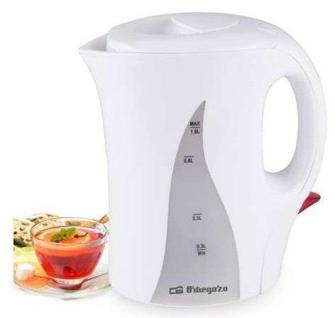 Orbegozo KT 41001L 1000W Weiß–Wasserkocher