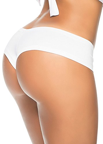 Espiral Braga REG Scrunch Color Blanco Talla ML