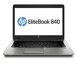 "HP EliteBook 840 G1 Ordinateur portable 14"" (35,56 cm) Intel Core i5 4200U 1,6 GHz 180 Go 4096 Mo Intel HD Graphics 4400 Windows 7 Pro Noir/Gris"