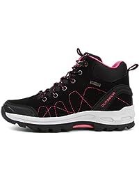 Fexkean Zapatillas de Trekking y Senderismo Para Hombre Mujer Impermeables Botas de senderismo Sneakers 35-45