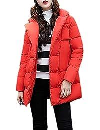 50d7ffbe51ed Damen Steppjacke Herbst Winter Daunenjacke Jacken Elegant Apparel Mode  Steppmantel Festlich Vintage Normallacks Langarm Mit Taschen