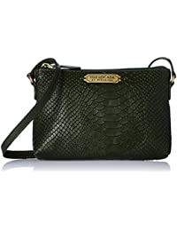 Isle Locada By Hidesign Women's Clutch (Green)