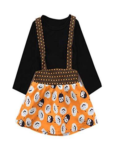 Yesmile Kinder Halloween Kleidung 2pcs Kleinkind Kinder Baby Mädchen Halloween Kleidung Set...