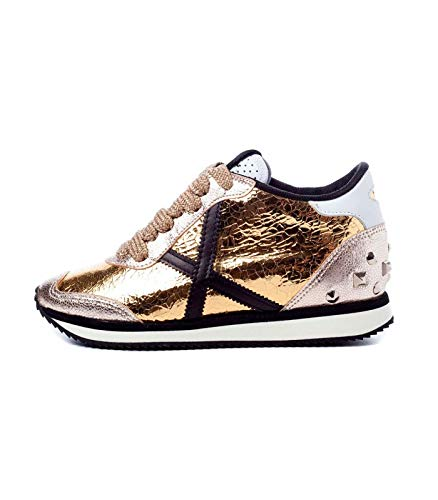 ee3543292b6 Sneaker Munich Zapatillas Munich Heaven 35 Mujer 40 Dorado