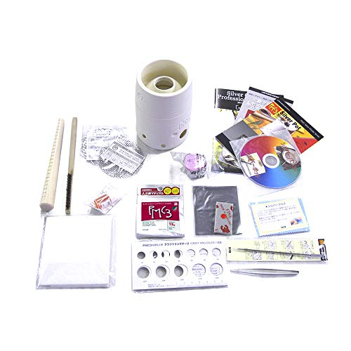 With two manual DVD + synthetic stone diamond PMC3 original sterling silver clay starter kit contains 16g (2mm/3mm) (japan import) (1-zoll-16-gauge)