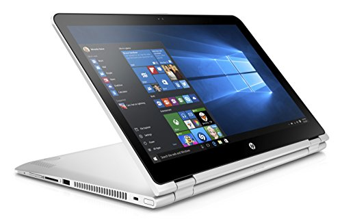 HP Pavilion X360 15-BK001TX Laptop (Windows 10, 8GB RAM, 1000GB HDD) Natural Silver Price in India