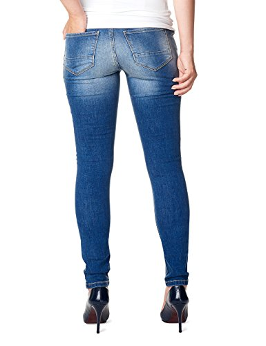 Noppies Damen Umstandsjeans Jeans Otb Skinny Tara Blau (Stone Wash C295)