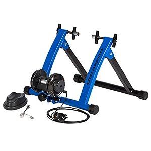 Ultrasport Set de rodillo de bicicleta con cambio de marchas, certificado de seguridad TÜV