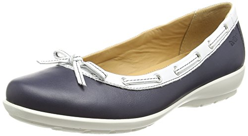 Hotter Gem, Ballerine Donna Blue (Navy-White)