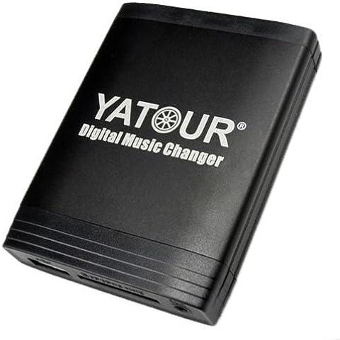USB SD AUX MP3 Adaptor for Ford: Galaxy MK1, Transit MK5, Escort MK7, Mondeo MK2 MK3, Scorpio, Cougar, Focus MK1, Fiesta MK4 MK5, Puma with Radio: VNR CD-Changer, 4050 RDS EON, 4600 CD/N/NU, 5000 RDS EON, 6000 RDS EON, 6000 MNE, 7000 RDS EON, 9000VNR by Yatour
