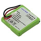 Akku für Schnurlos-Telefone Audioline Slim DECT 500, 502, 580, 582 (5M702BMXZ), Fritzphone Dect MT-D, Medion Life S63006, MD81877