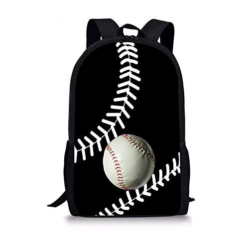 LBYMYB Ball-Rucksack-kreative Baseball-Taschen-Studenten-Jugend-Freizeit-Reise-Tasche Kinderrucksack (Farbe : C) -