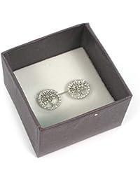 Isabella Grace Butterfly Sterling Silver Stud Earrings Made UK BG3340-4
