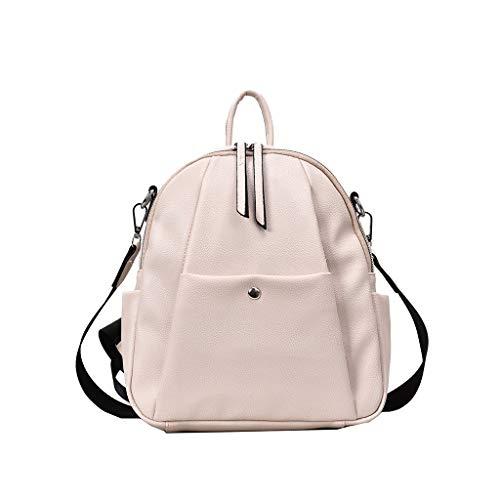 de550f862c1d1 Mode Damen Trend Multifunktions Wild UmhäNgetasche Rucksack Eimer Tasche  Elegante Einfarbige Business-Tasche Hohe QualitäT Lederrucksack  wasserdichte ...