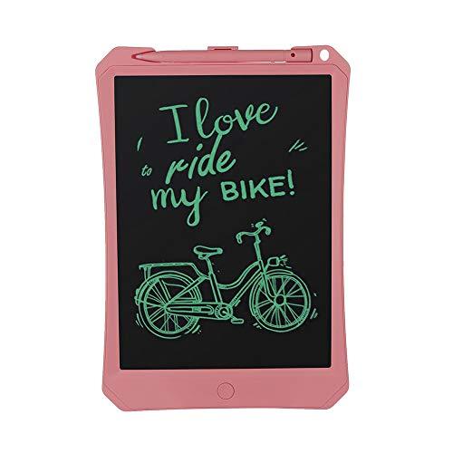 Webla 11-Zoll-Schreibtafel Schreiben Flüssigkristallanzeige 11-Zoll-Tablet-Board Zeichenblock Notizblock E-Writer Digital Graphic (Pink)