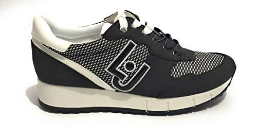 Liu jo scarpe donna sneakers b19021 tx027 gigi 02 taglia 41 nero
