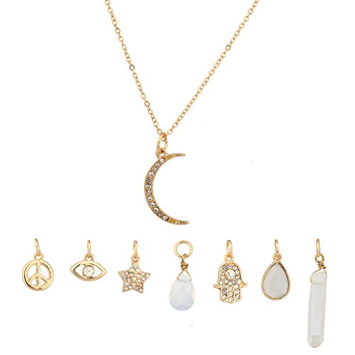 lux-accessories-crescent-moon-celestial-crystal-hamsa-star-evil-eye-peave-amulet-interchangable-neck