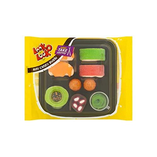 Look-O-Look Candy Sushi, leckere Sushibox aus Fruchtgummi / Marshmallow - 100g