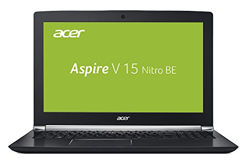 Acer Aspire V 15 Nitro Black Edition VN7-593G-73E7 39,6 cm (15,6 Zoll Ultra-HD IPS matt) Gaming Notebook (Intel Core i7-7700HQ, 16GB RAM, 256GB PCIe SSD, 1,000GB HDD, NVIDIA GeForce GTX 1060, 6GB VRAM, Win 10) schwarz