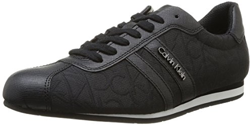 Calvin Klein Collection George O10805 Sneakers Uomo Scarpe Sportive Casual Basse, Nero  (Noir (Bbk)), 45