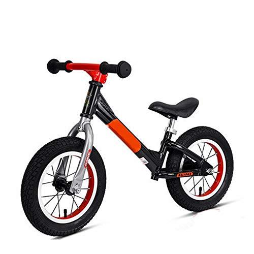 Bicicleta De Equilibrio Para Niños Ligeros de 12 Neumáticos resto aluminio bicicleta de carreras con aire de goma antideslizante manillar No empuje el pedal y bicicletas niños y los niños de entrenam