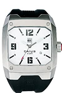 Quiksilver - M130JR/ASIL - Montre Homme - Quartz - Analogique - Bracelet Caoutchouc Noir