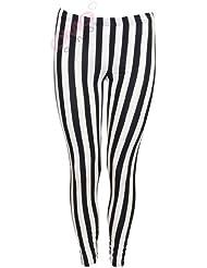 Pantalon rayé jambières Femme (inch striped leggings)