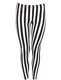 Pantalon rayé jambières Femme (inch striped leggings)