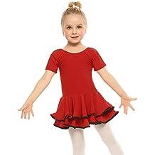 ARSHINER Vestido de Ballet Niña Vestido de Fiesta Leotardo para Niñas 6-13 Años
