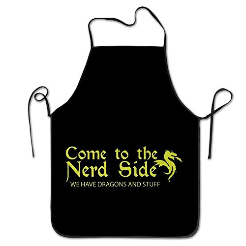 dfhdshsd Scientist Gamer Nerd Dragon Nerdy Gift Cool Apron Cute Aprons