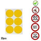 Qiopes Autocollant Anti-moustiques Naturel Anti-Insectes Non Toxique, sans Danger...