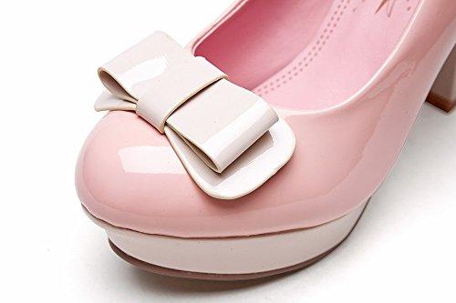 Fidanzamento Pompe Colori Di In Sconosciuto scarpe 1to9 Gomma Donne Assortiti Slittamento Rosa wZxqn0HnX