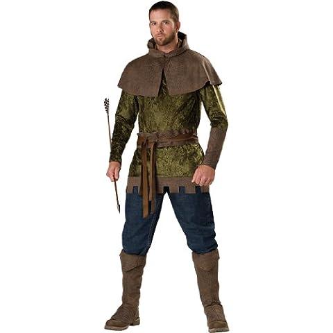 In Character Costumes - Disfraz de Robin Hood para hombre, talla XL (11029)