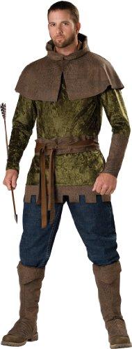 Xl Hood Adult Robin Kostüm - Generique - Robin Hood Kostüm für Herren - Premium XL
