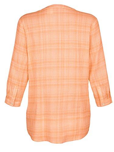 Damen Bluse aus reiner Baumwolle by Paola Weiß/Apricot