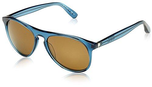 Polaroid Unisex-Erwachsene PLP-101-YF9-L Sonnenbrille, Blau (Azul), 56