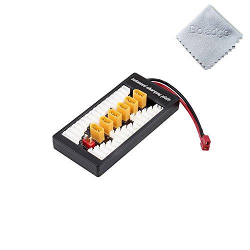 Boladge XT60 Parallel Balanced Ladestation Board Wiederaufladbare Lipo Lithium Batterie Adapter Erweiterungskarte für Imax B6 B6AC UN-A6 Ladegerät