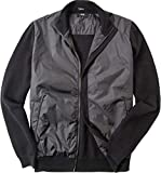 BOSS Hugo Herren Cardigan Jacke Uni & Uninah, Größe: XL, Farbe: Schwarz