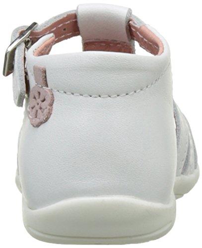 Aster Grissi, Sandales Bébé Fille Blanc (Blanc)